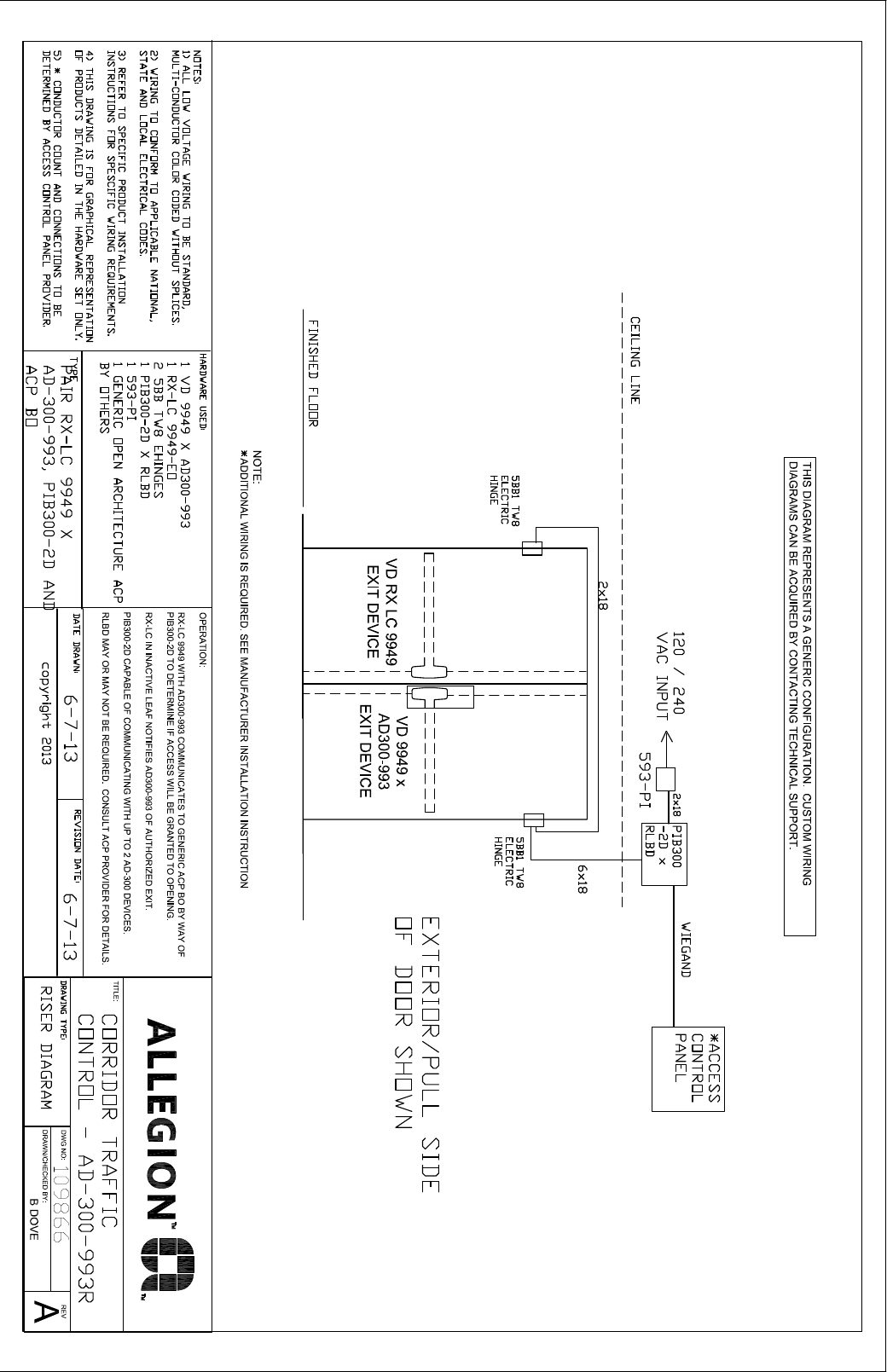 hight resolution of von duprin wiring diagrams wiring diagram centrevon duprin corridor traffic control application illustration and von duprin