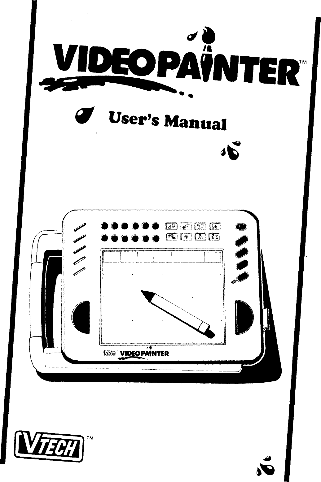 Vtech Video Painter Owners Manual