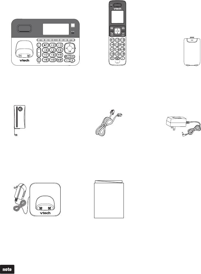 Vtech Cordless Telephone Cs6858 3 Users Manual