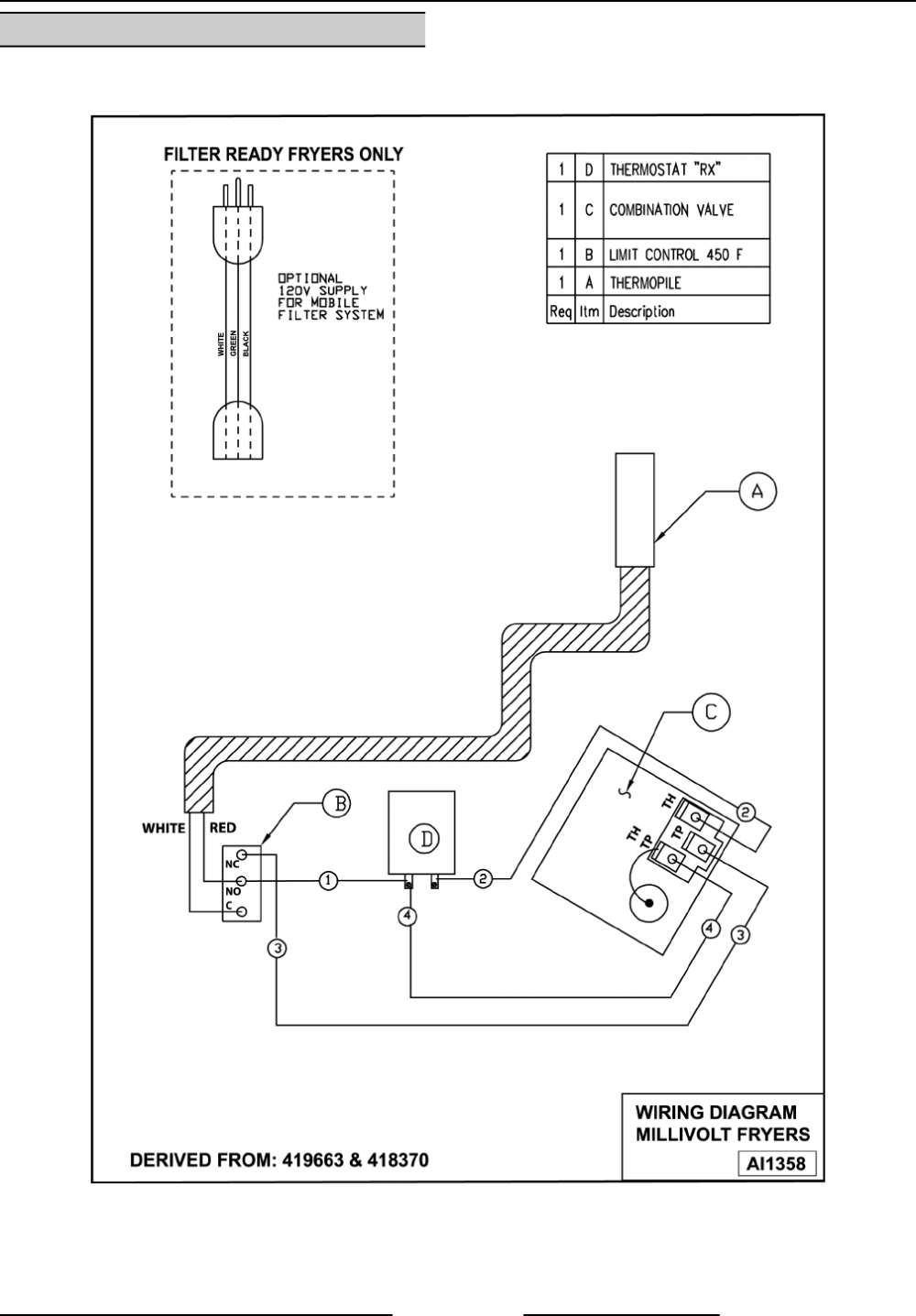 medium resolution of gr series gas fryers electrical operation