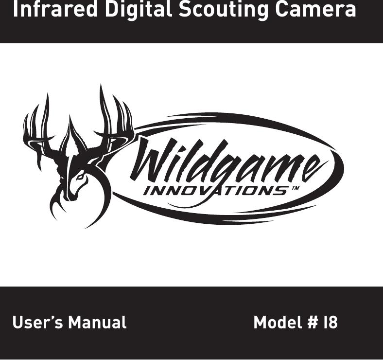 WGI Innovations I8 Game Trail Camera User Manual