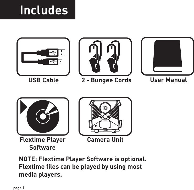 WGI Innovations N4E Game Scouting Camera User Manual