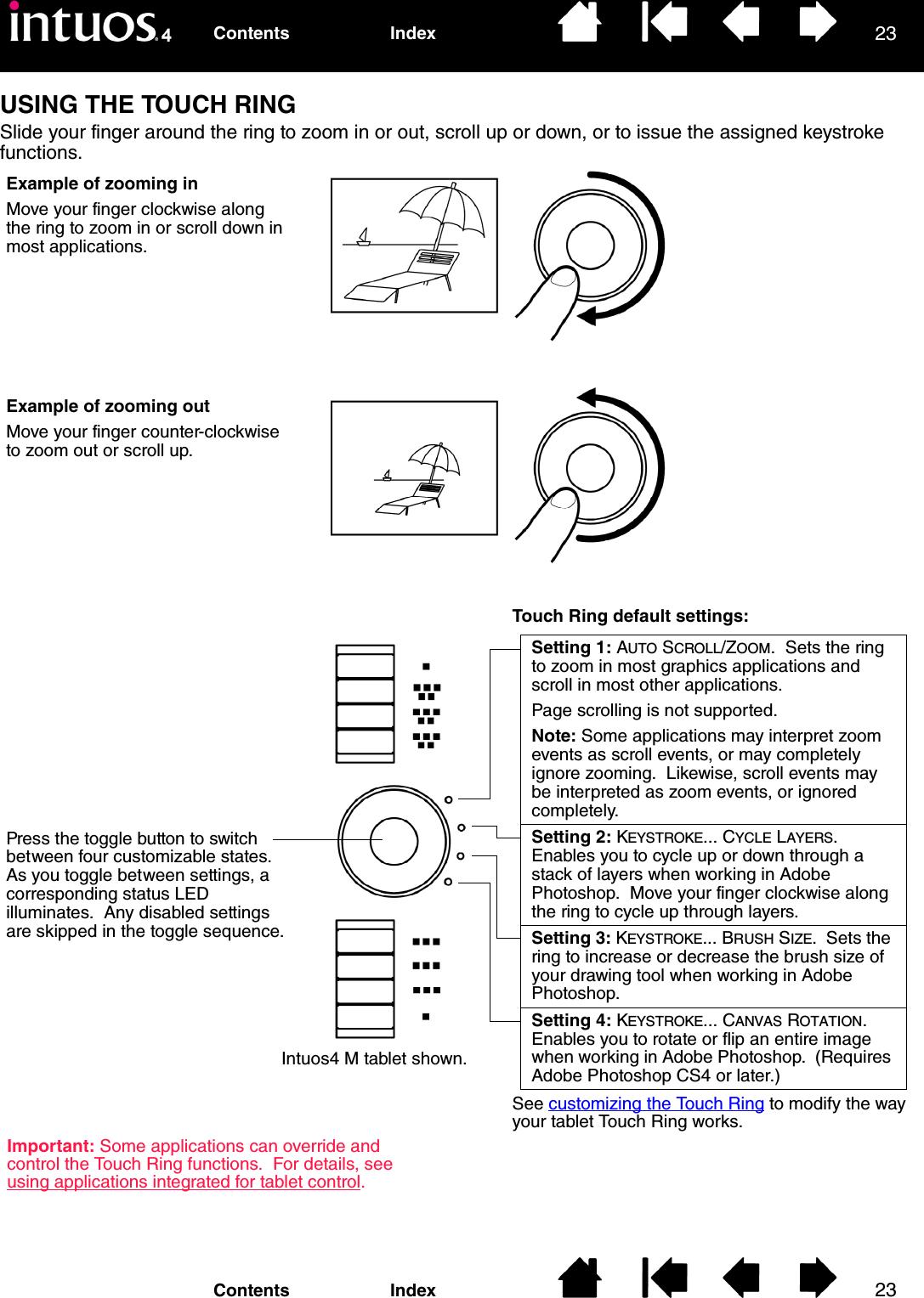 Wacom Co PTK Digitizer User Manual Intuos4 User s Manual