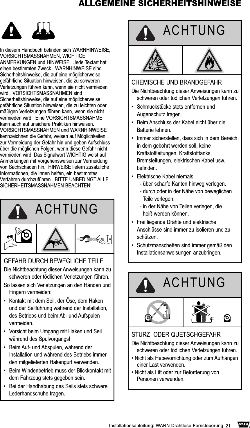 Warn WTX001 Tunes Explorer Wireless User Manual