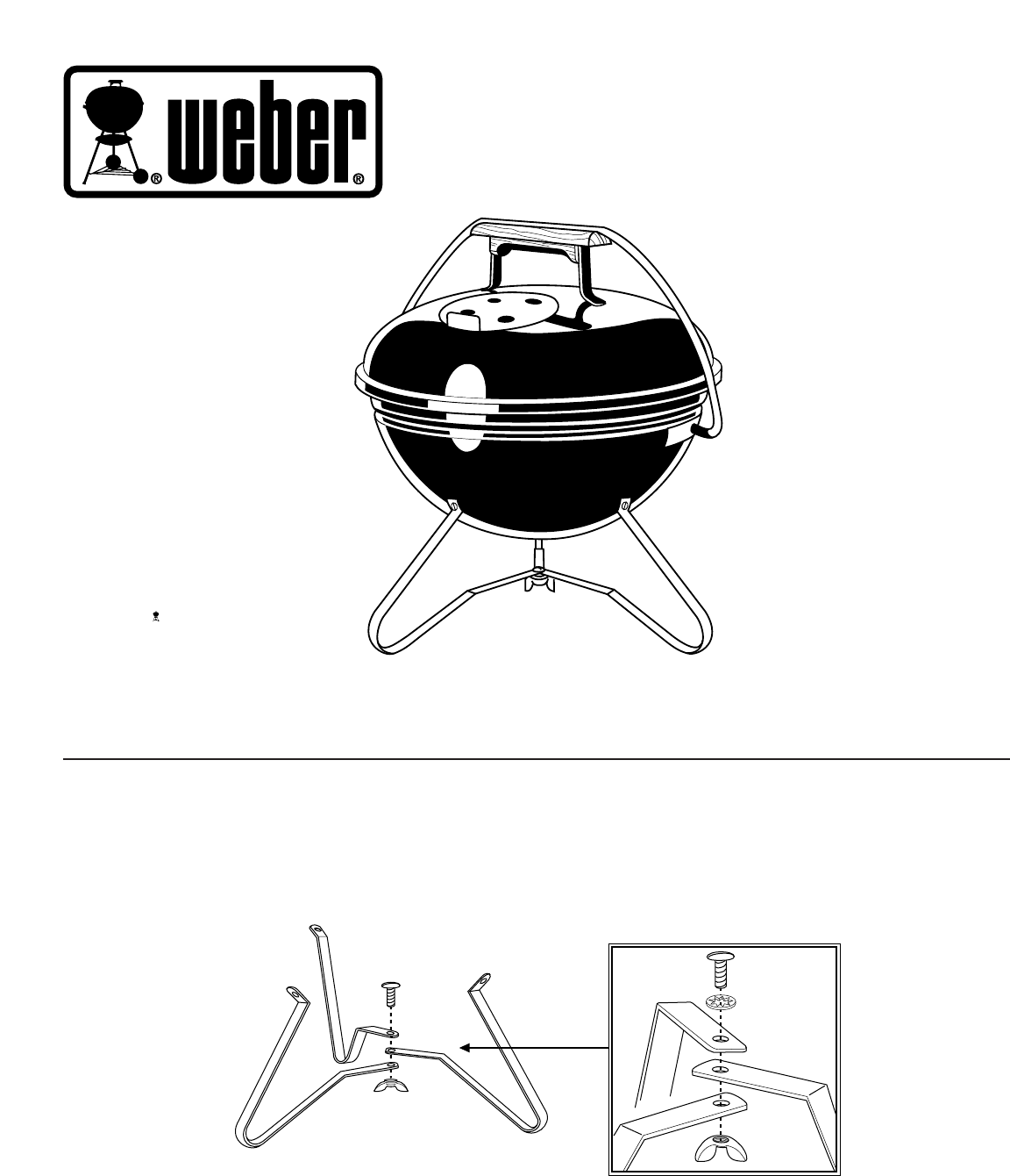 Weber Smokey Joe Grill Gold Installation Manual Tuck N