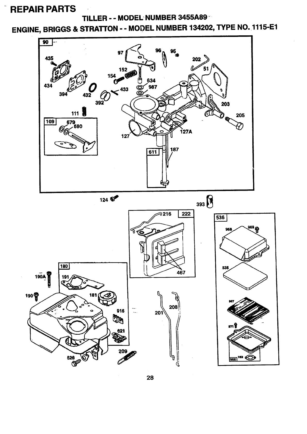 Western Auto 3455A89 User Manual REAR TINE TILLER Manuals