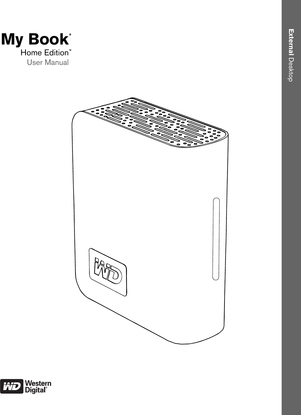 Western Digital Wd10000H1U 00 Users Manual 820173 My Book