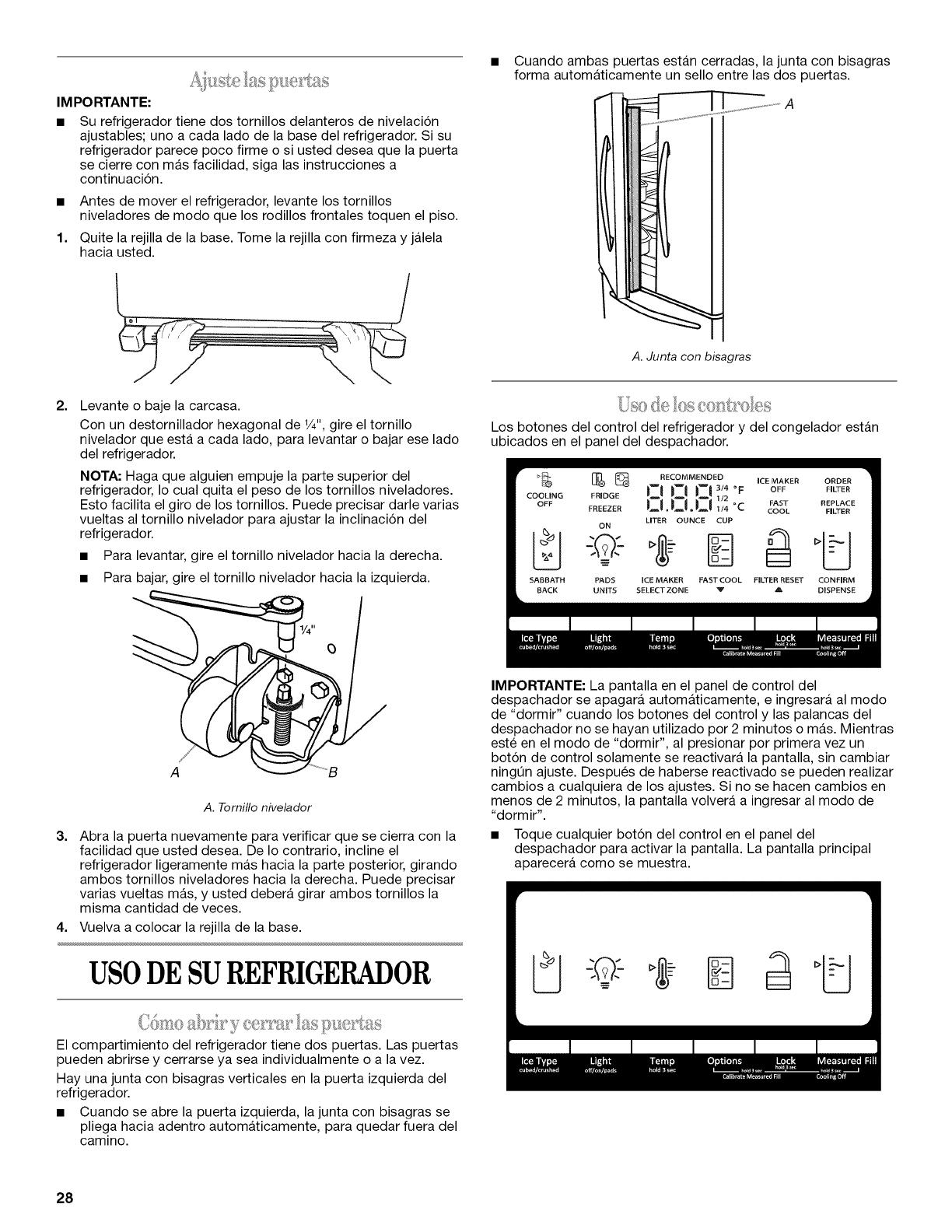 Whirlpool GZ25FSRXYY0 1112387L User Manual REFRIGERATOR