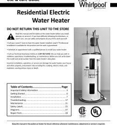 whirlpool e2f40rd045v owners manual 323099 000 approved copy on whirlpool water heater parts water heater  [ 1274 x 1504 Pixel ]