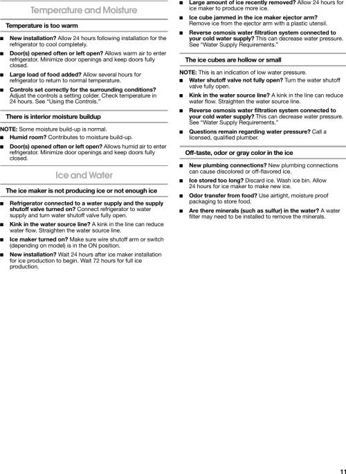 small resolution of page 11 of 12 whirlpool whirlpool tt21akxkq02 users manual whirlpool
