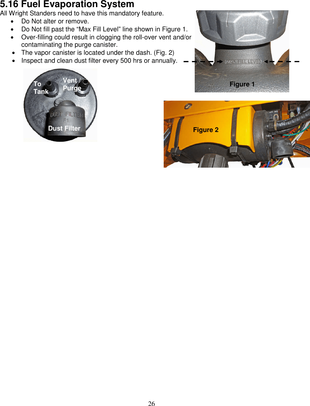 hight resolution of wright stander fuel filter