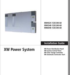xantrex charge controller wiring diagram [ 1074 x 1458 Pixel ]