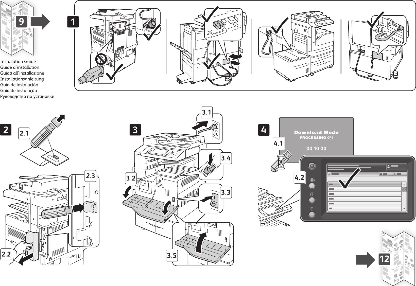 Xerox Workcentre 5325 5330 5335 Users Manual 5325/5330