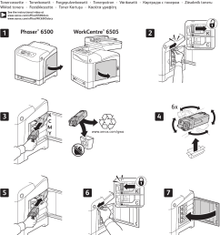 xerox workcentre 6505 users manual phaser 6500 and toner cartridge instruction sheet 604e62670 [ 1165 x 1562 Pixel ]