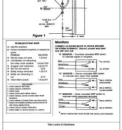 yale 80 9477 0781 001 01 13 exit devices with electric latch electric latch retraction wiring diagram [ 1117 x 1490 Pixel ]