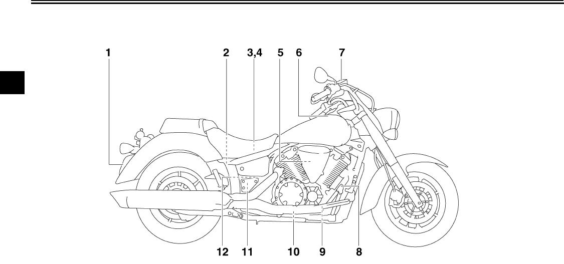 Yamaha 2007 V Star 1300 Tourer Owners Manual XVS13AW(C