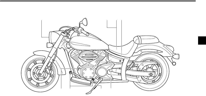 Yamaha 2012 V Star 950 Owners Manual