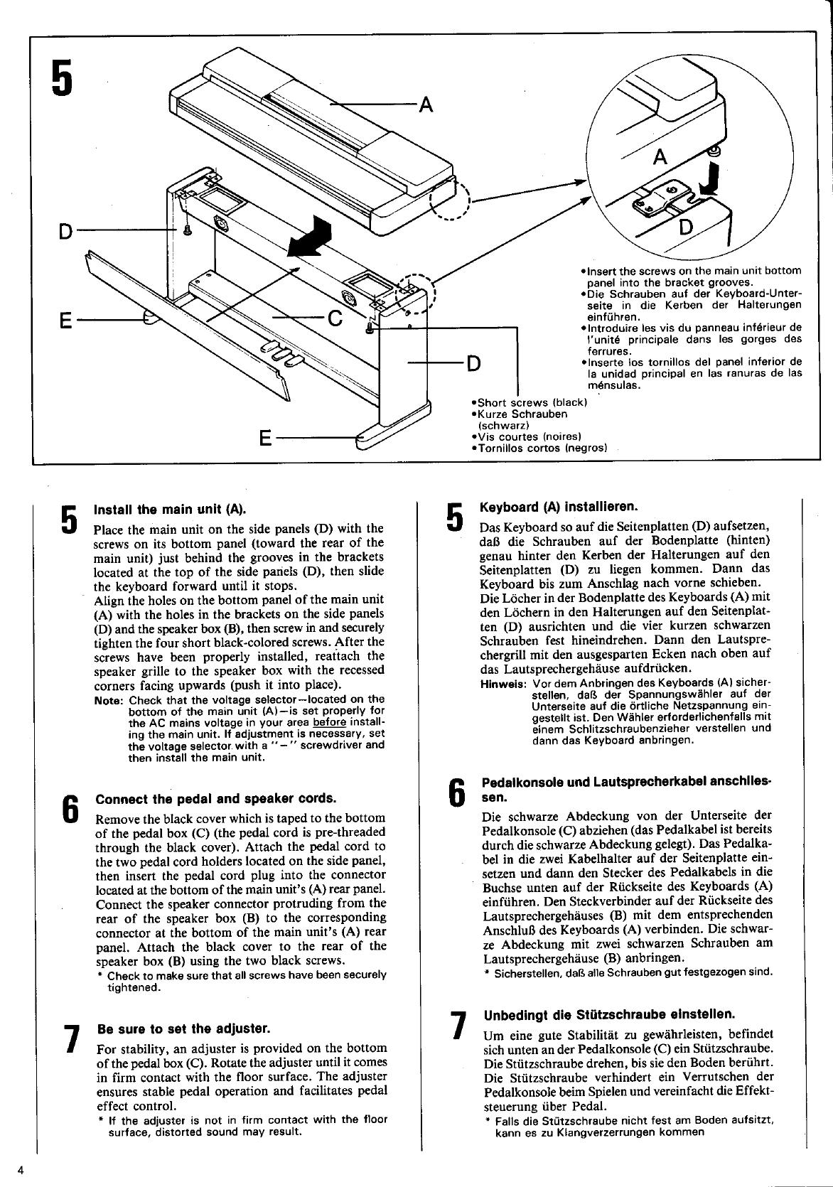 Yamaha Clavinova Clp 650 Owners Manual