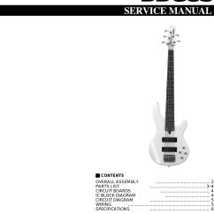 Wiring Diagram Yamaha Electric Guitar Club Car Gas Bbg5s Users Manual Bass