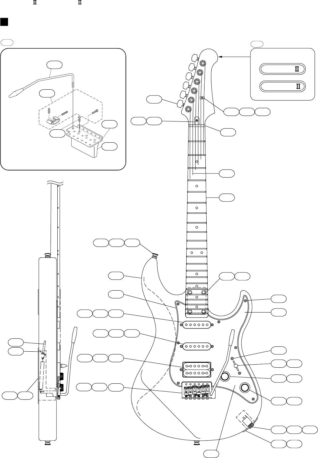 Yamaha Guitar Electric Users Manual