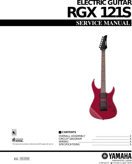 small resolution of yamaha guitar electric users manual rgx 121s yamaha rgx 612j yamaha rgx wiring