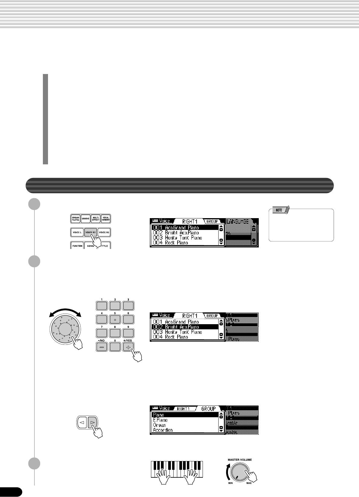Yamaha PSR 740/640 Owner's Manual PSR740E