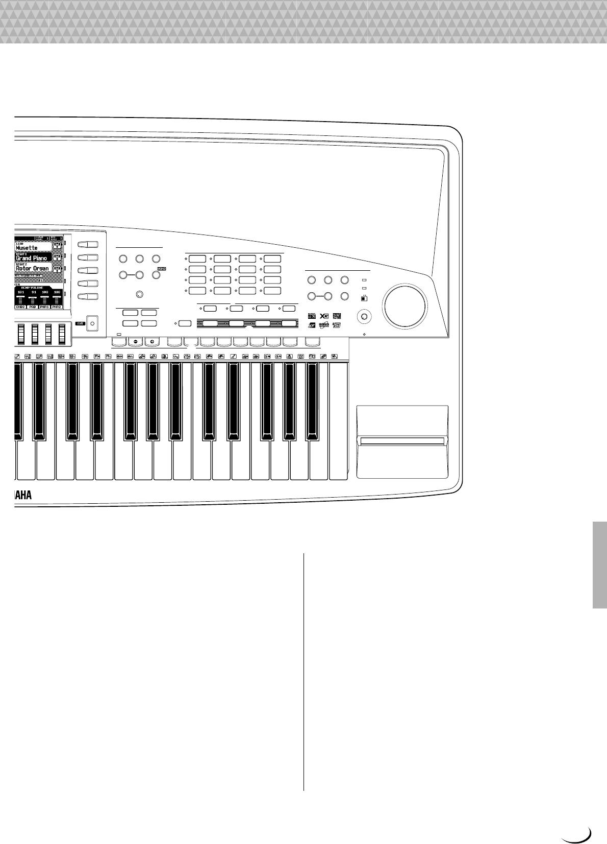 Yamaha PSR 8000 Owner's Manual PSR8000G