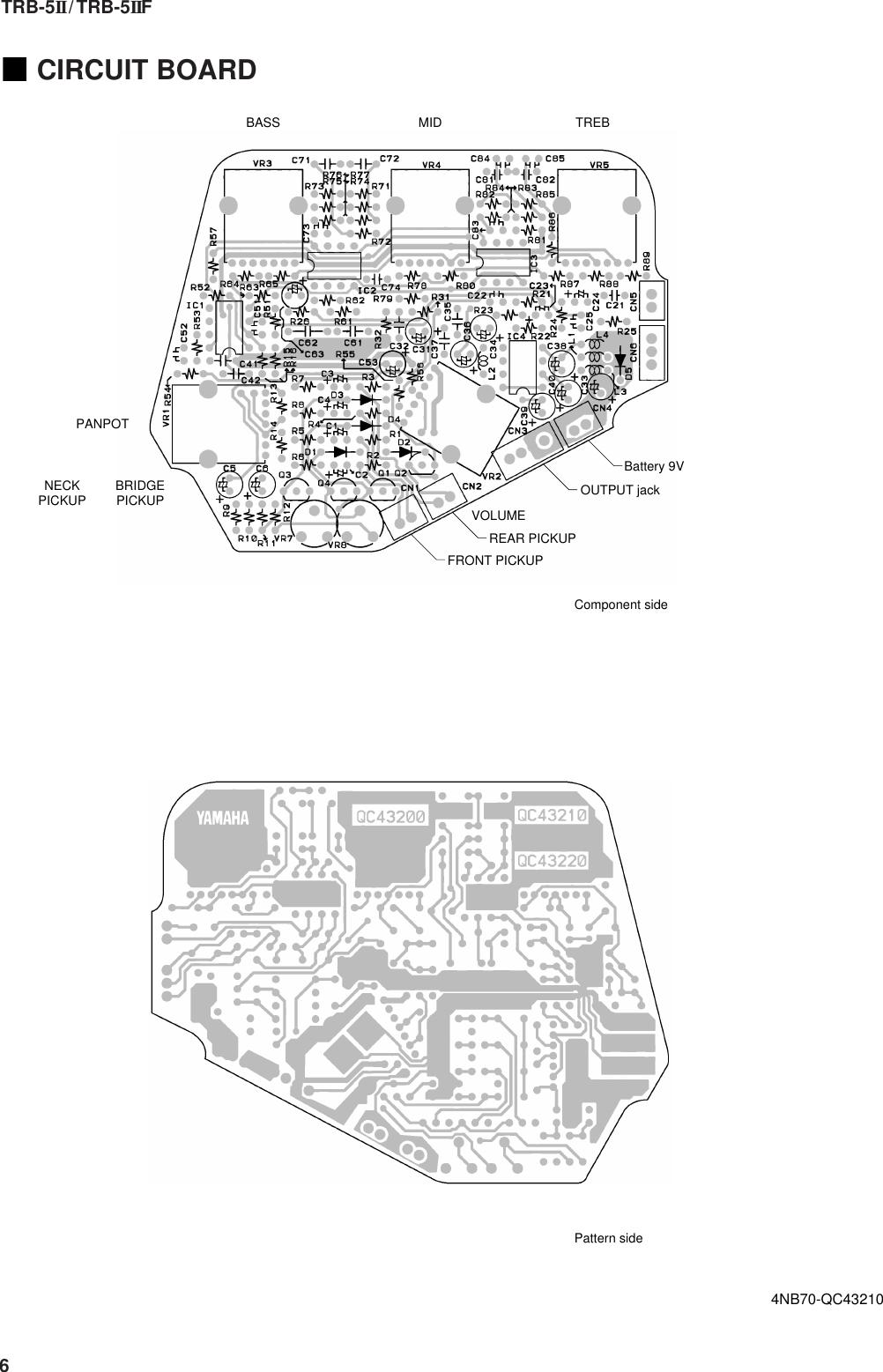 Yamaha Trb 5Ii Users Manual 5II/TRB 5IIF