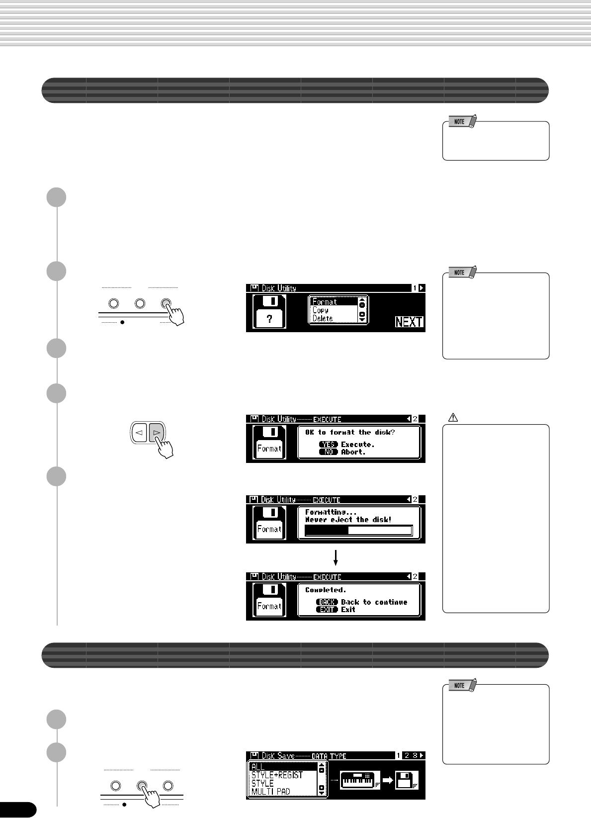 Yamaha PSR740 Owner's Manual