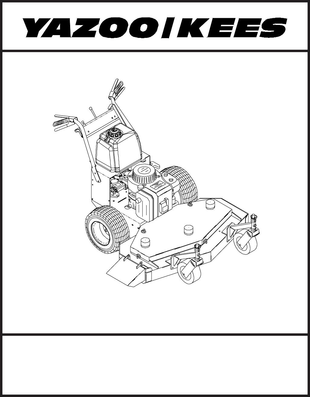 Yazoo Ignition Switch Wiring Diagram