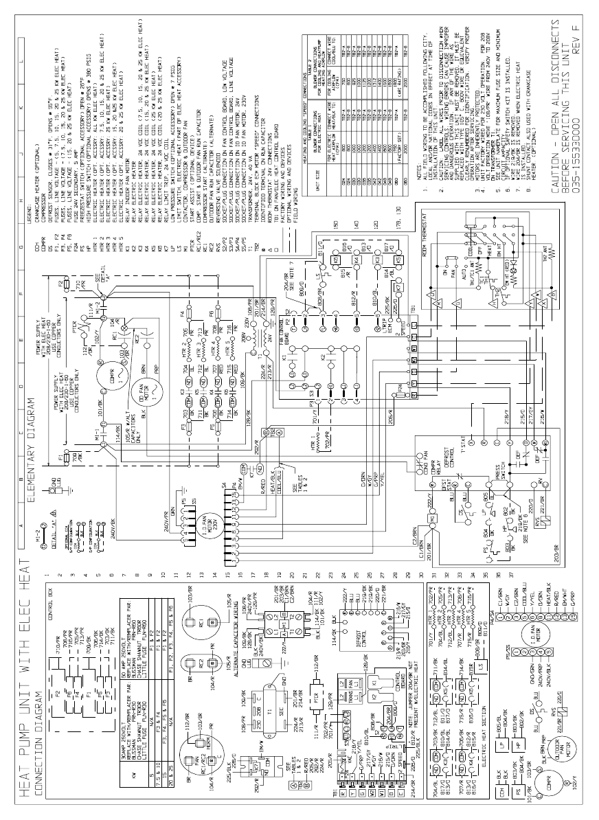 york air conditioner wiring diagram