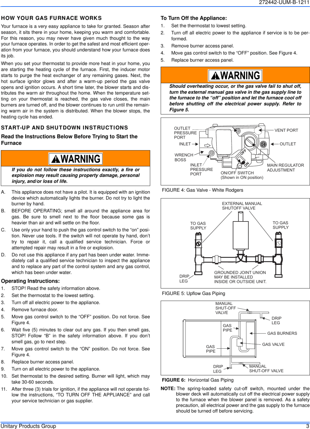 medium resolution of page 3 of 12 york commercial gy8s e furnace users