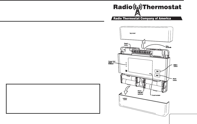 Lowe's Iris Smart Thermostat Manual
