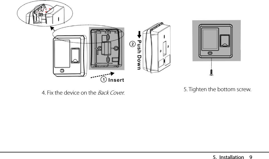 ZKTECO SF400MF Access Control Terminal User Manual