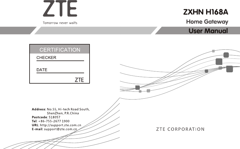 ZTE ZXHNH198A Home Gateway User Manual