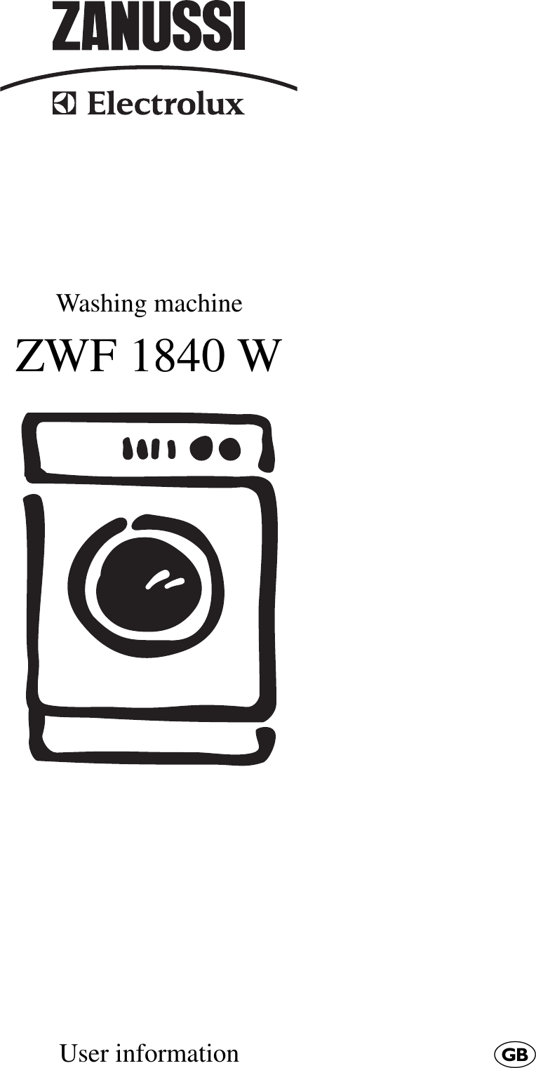 Zanussi Zwf 1840 W Users Manual R03_ZWF1840W.bk