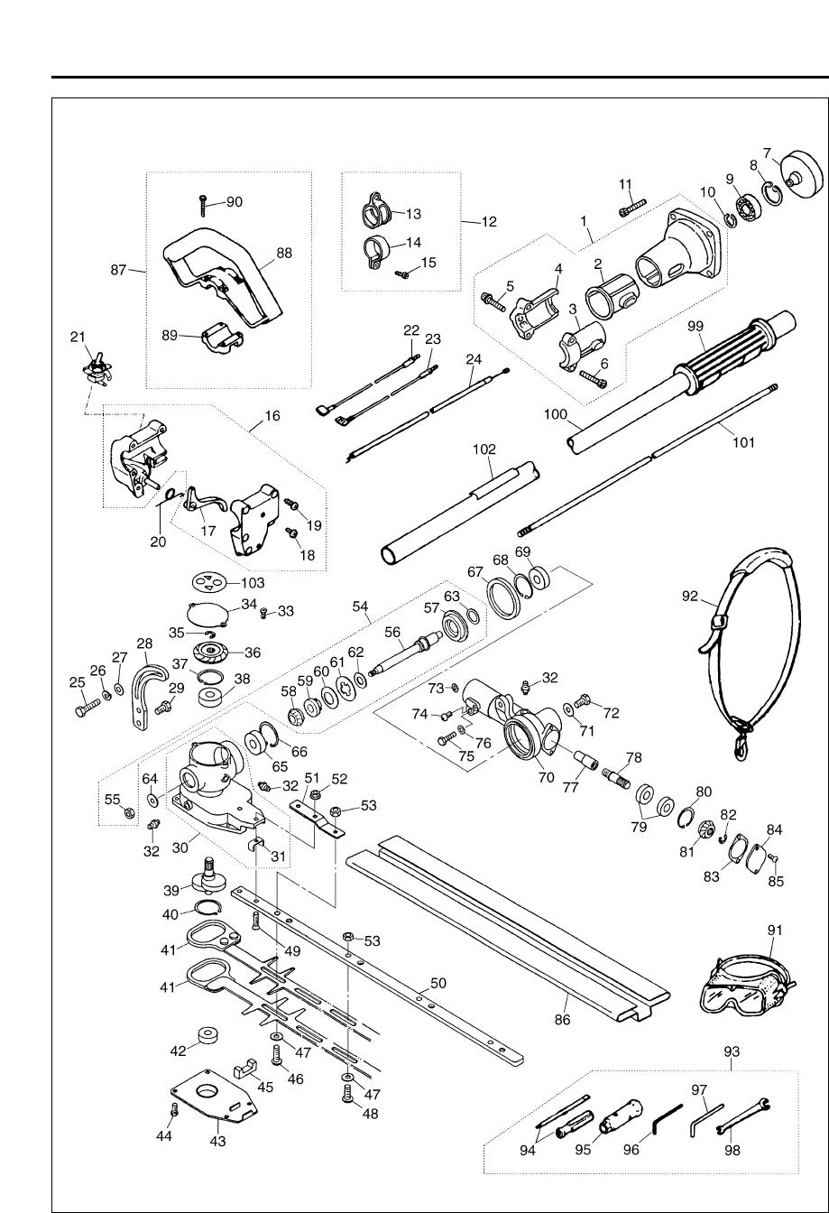 Zenoah Lrt2300 Users Manual