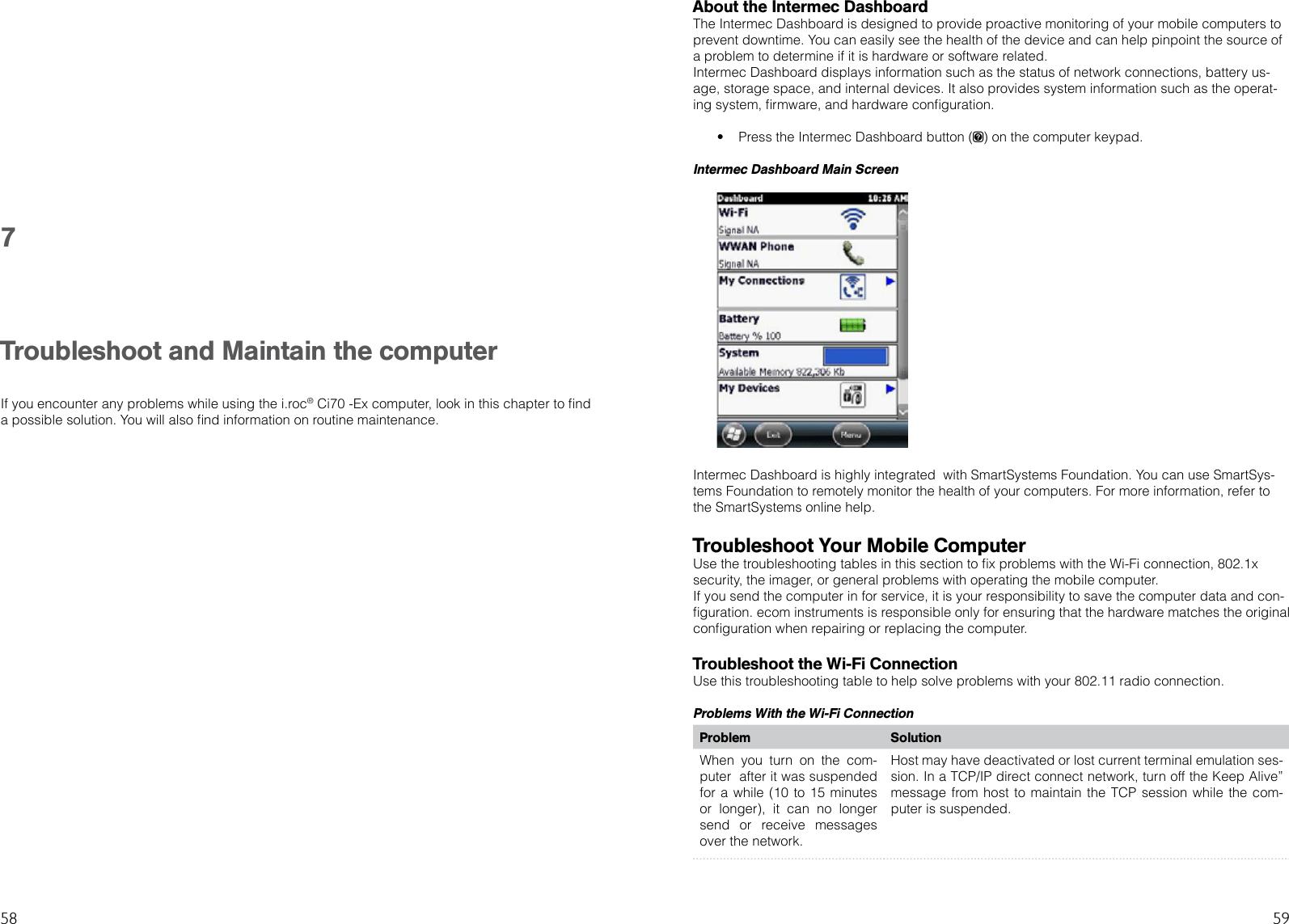ecom instruments 300011GR02 Ci70 User Manual i roc Ci70 Ex