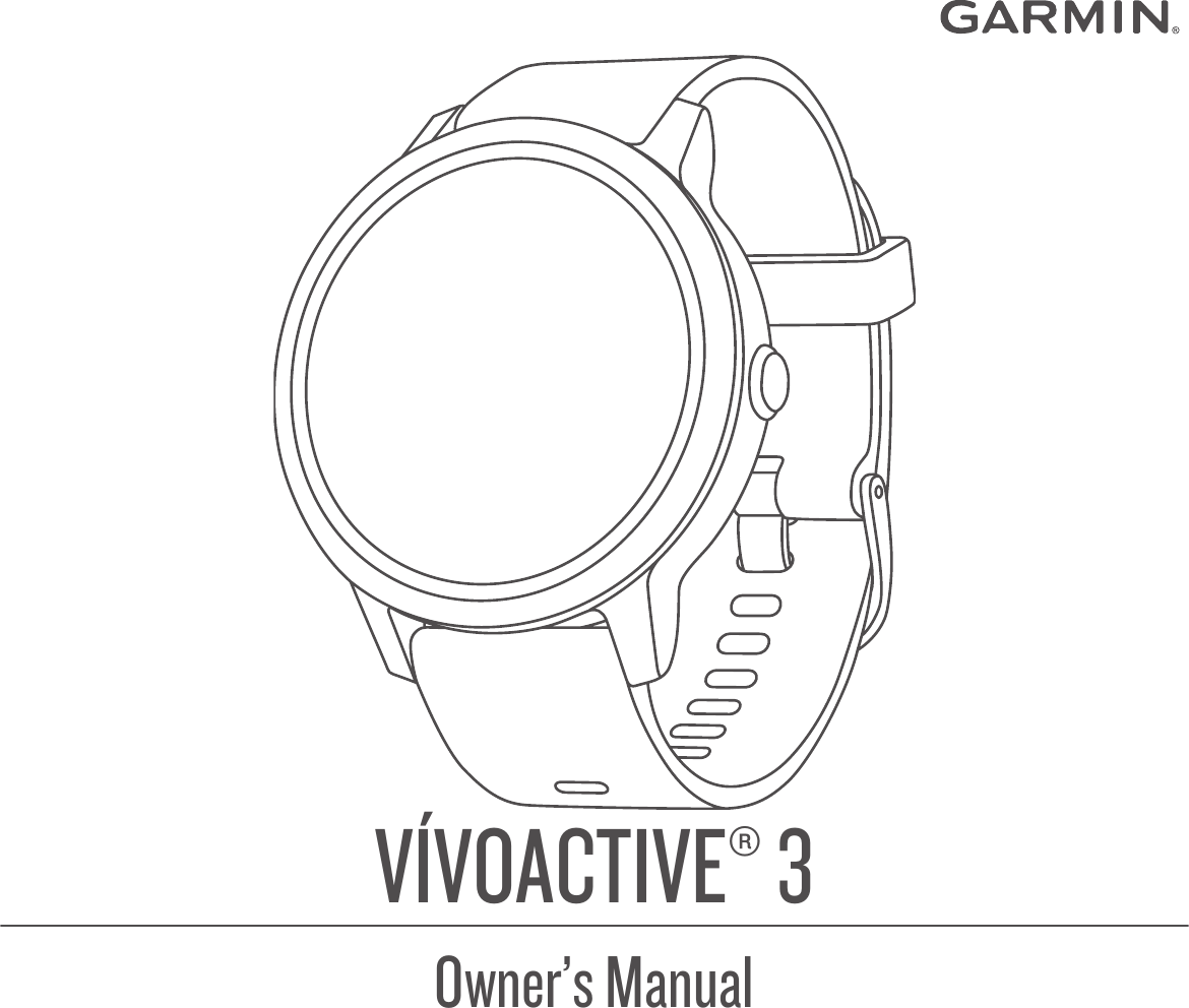 Garmin Vivoactive 3 Operating Instructions OM EN