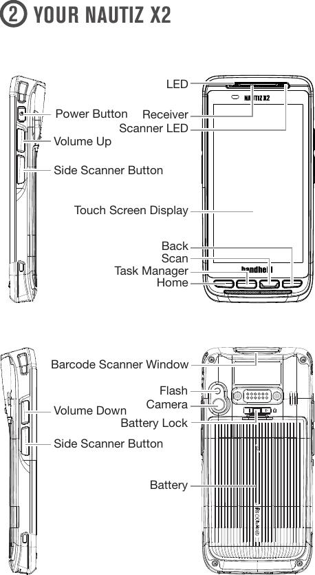 Handheld Nautiz X2 Quick Start Guide qsg