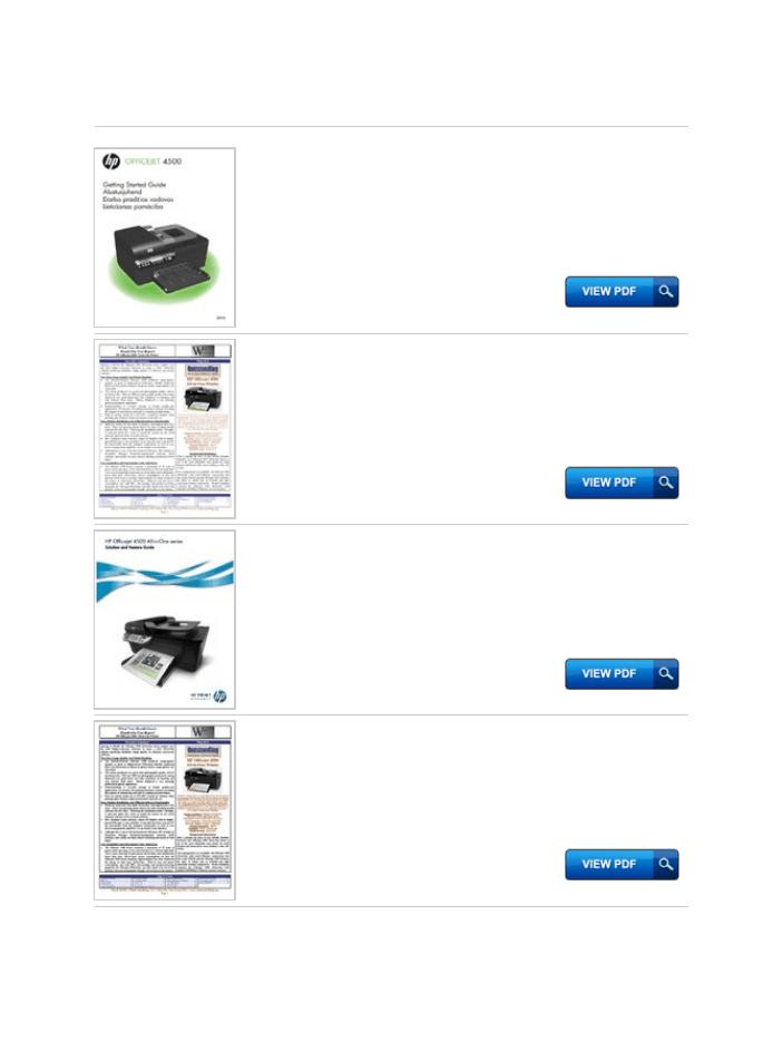 Hp Officejet 4500 Parts Diagram Productmanualguide.com