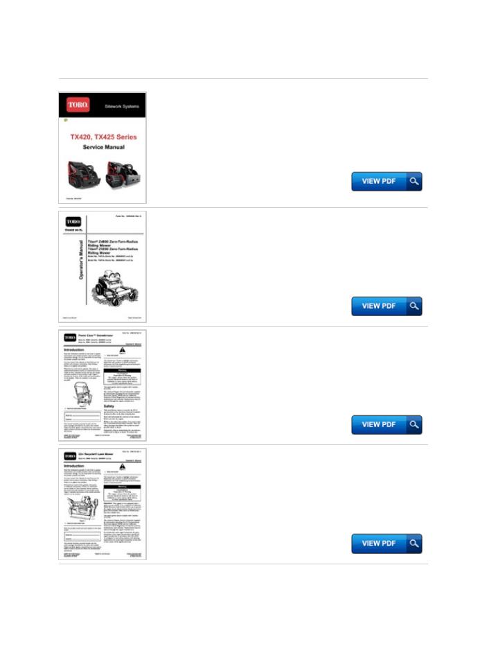 Hp Toro 20076 Service Manual Productmanualguide.com Preview