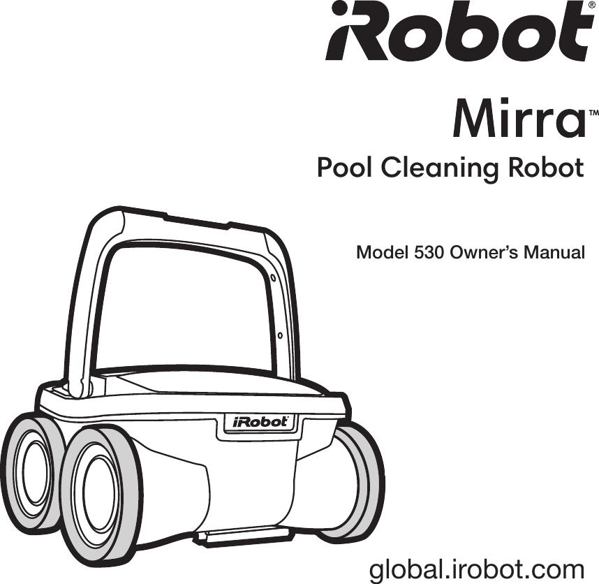IRobot Mirra 500 Series Owner's Guide En US