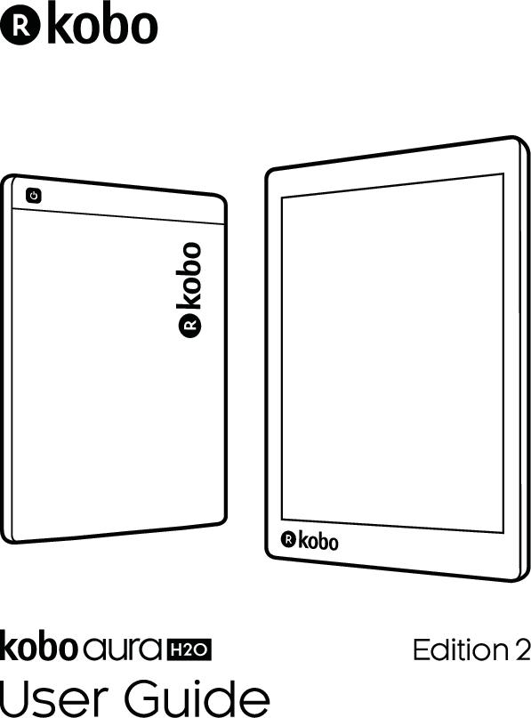 Kobo Aura H2O Edition 2 User Guide Instruction Manual