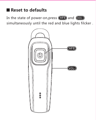 shi Haiyixin Technology M26 Bluetooth Headset User Manual