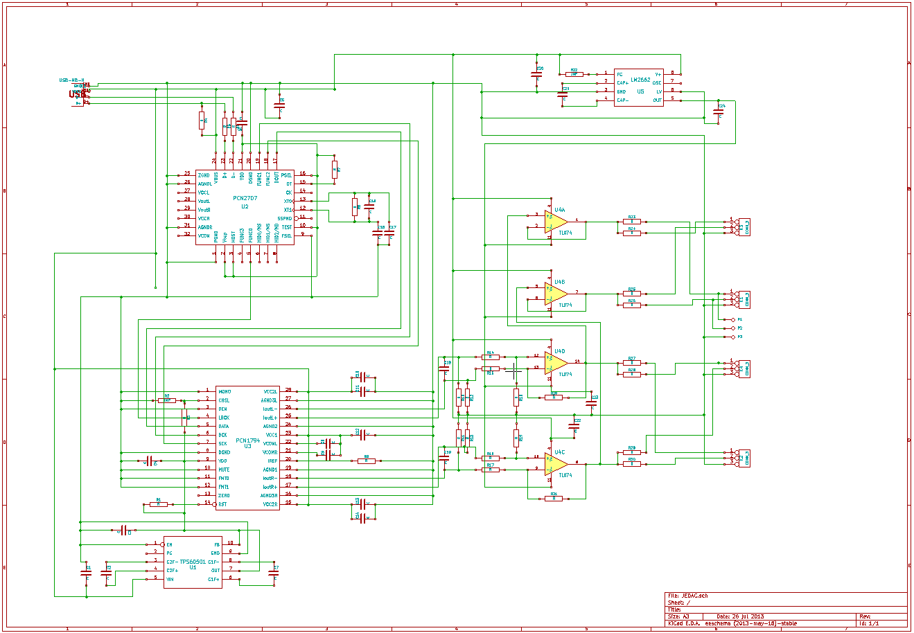 hight resolution of circuit description entire circuit usb audio