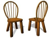 Kyle Audick - Model: Cartoon Chair