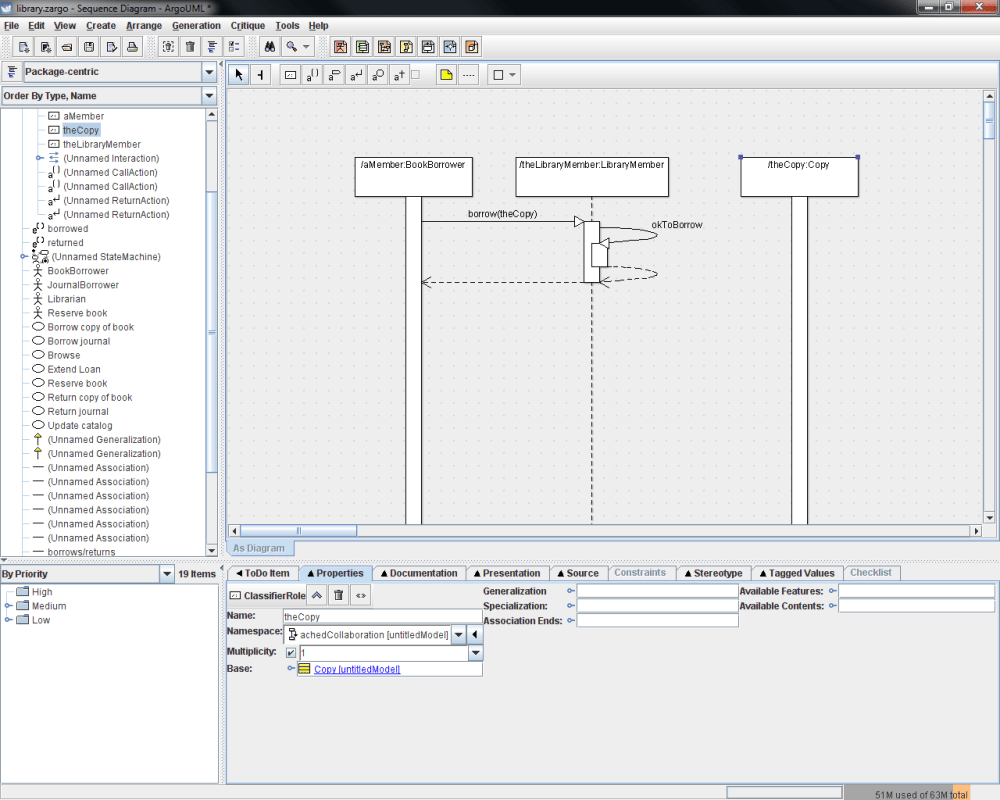 medium resolution of the second diagram has also been updated to include a third lifeline for thecopy an instance of the copy class since thecopy is involved in the