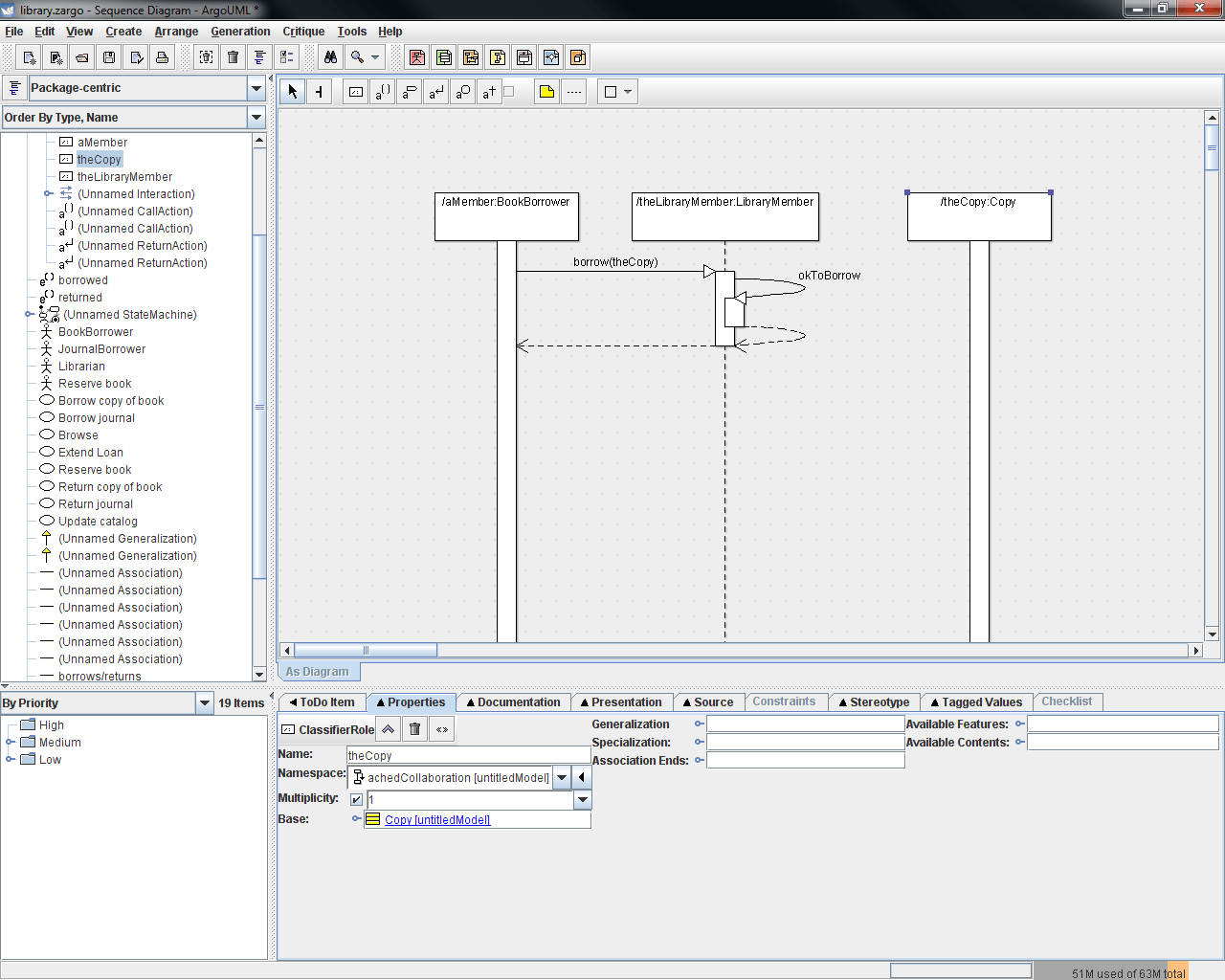 hight resolution of the second diagram has also been updated to include a third lifeline for thecopy an instance of the copy class since thecopy is involved in the