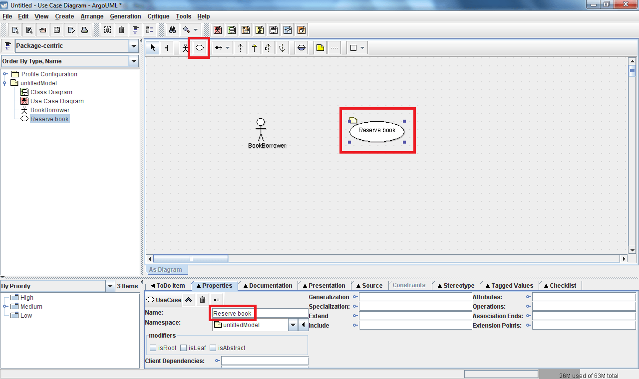 hight resolution of add this information by filling in the name field in the properties tab located below the diagram again all these features are shown below
